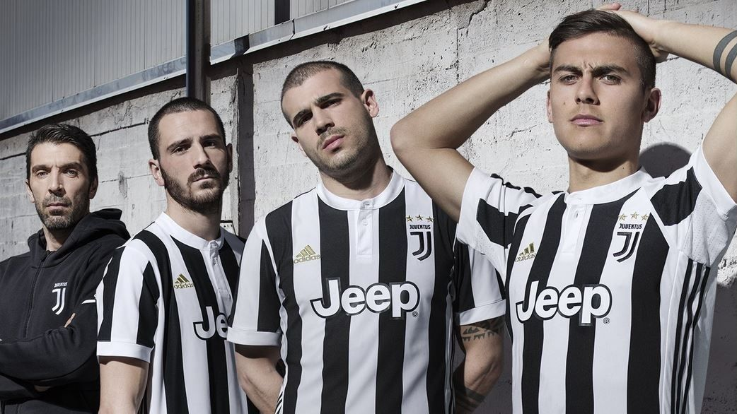 Juventus 2017-18 Home Kit