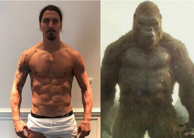 Zlatan Ibrahimovic compares himself to King Kong in Instagram post