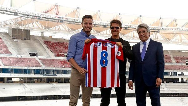 Atletico Madrid shirt for Tom Cruise