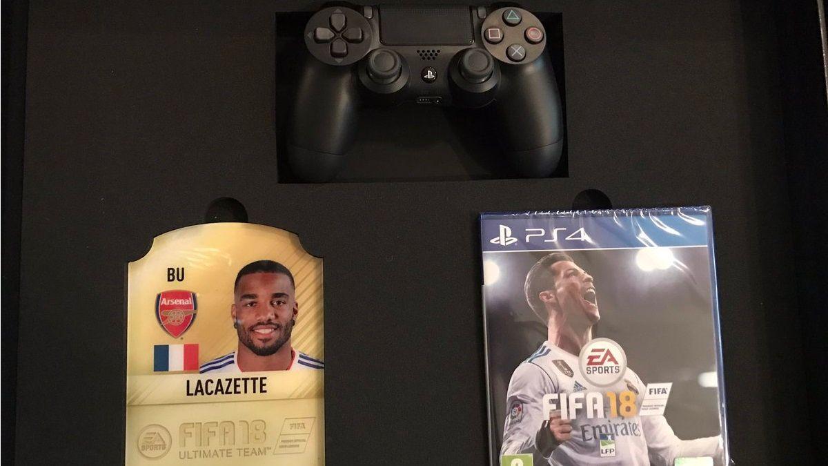 Alexandre Lacazette FIFA 18