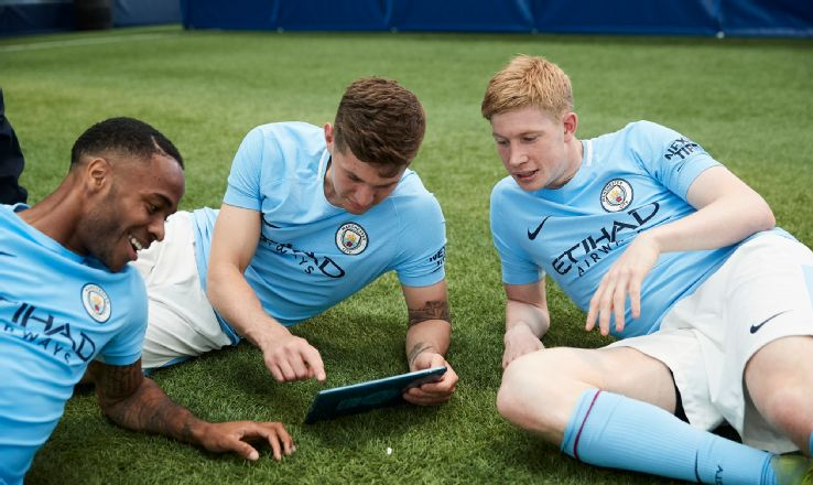 Kevin De Bruyne talked to ESPN FC during a Manchester City event to promote their SkillCity app.
