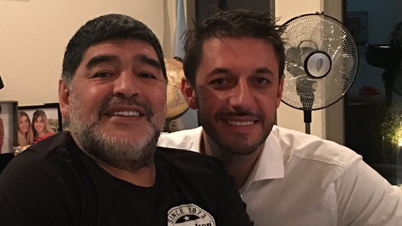 Diego Maradona and Lawyer