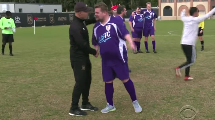 Corden and friends take on MLS newcomers LAFC