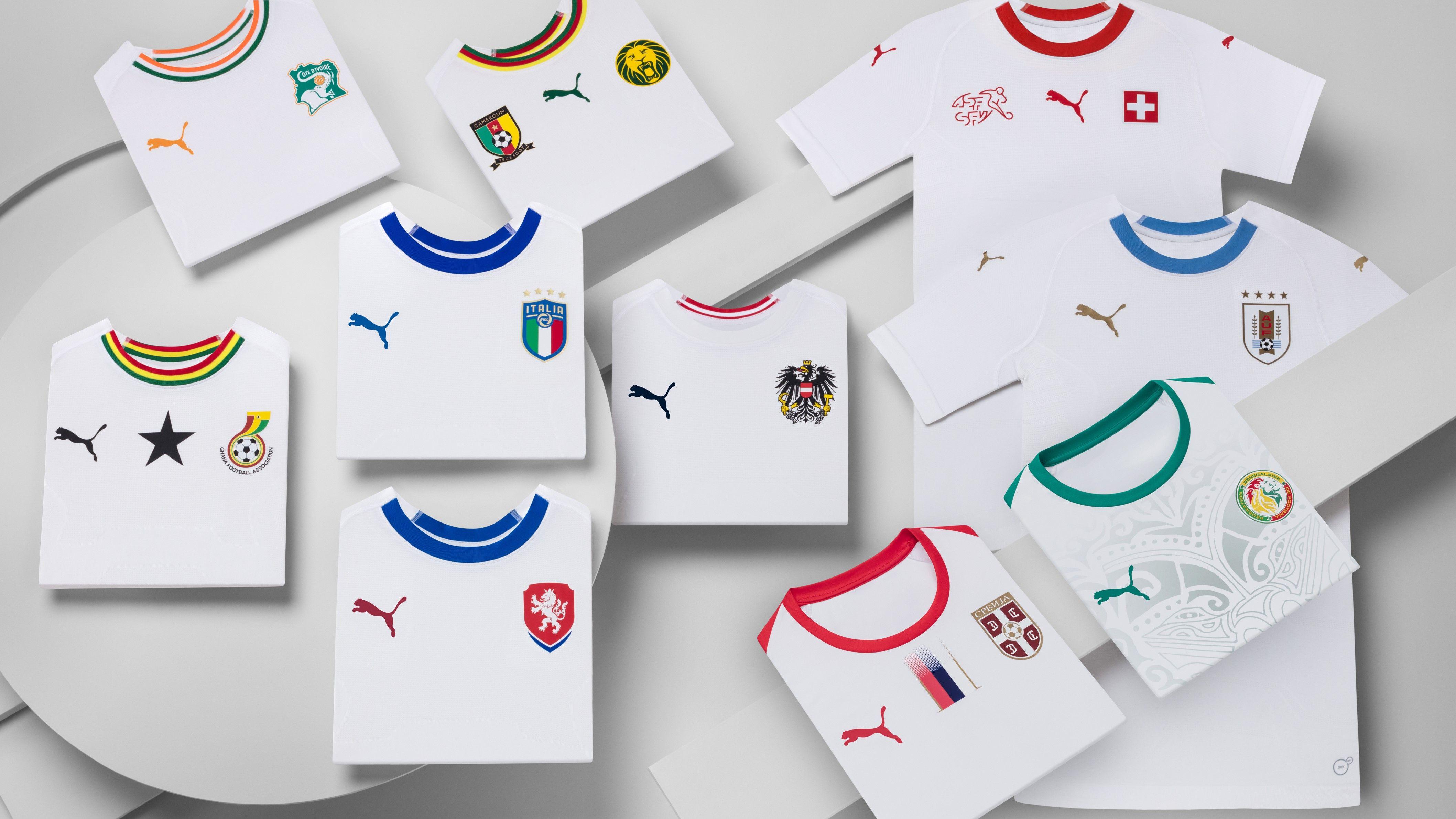 Puma 2018 kits
