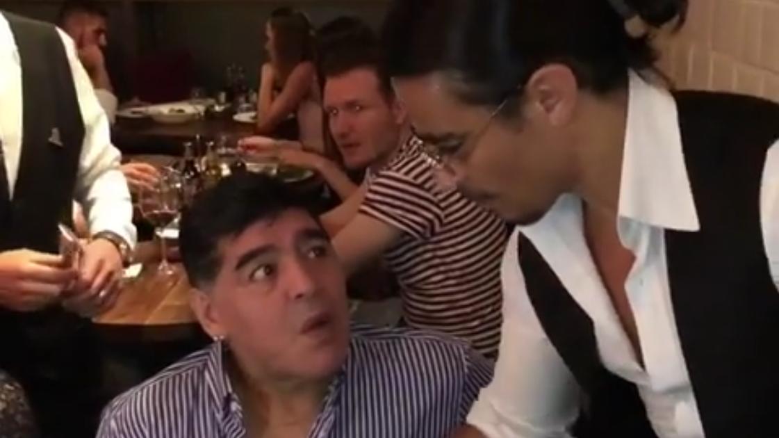 Maradona Salt Bae