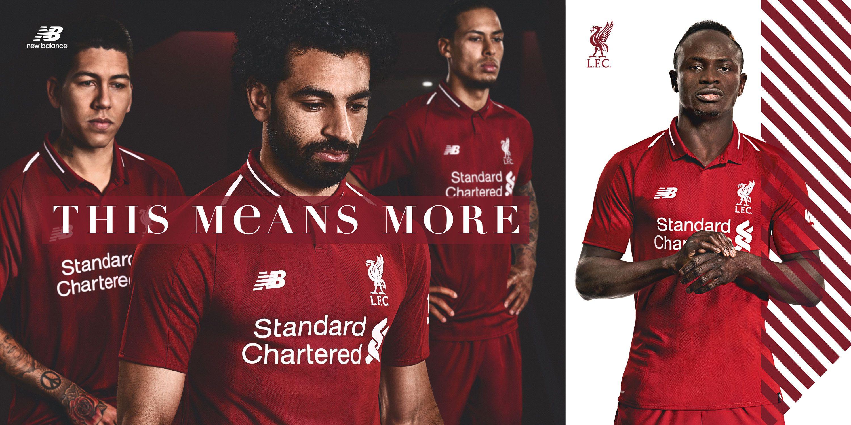 Liverpool Reveal Premier League Home Kit For 2018-19
