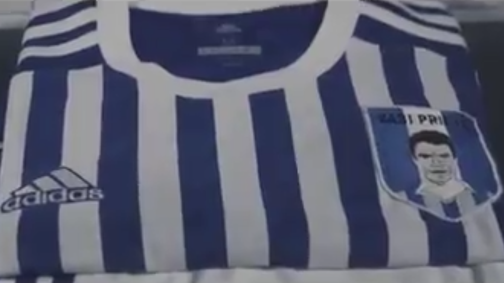 Real Sociedad Xabi Prieto badge