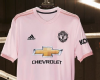 45b63e442a9 Manchester United reveal pink away shirt - Soccer Prediction by Models