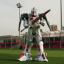 Belarus robot mascot