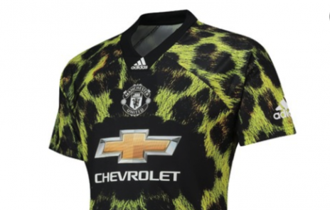Man United leopard print kit