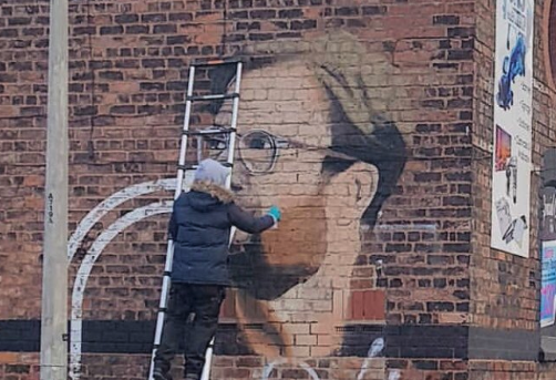Jurgen Klopp to appear in mural form.