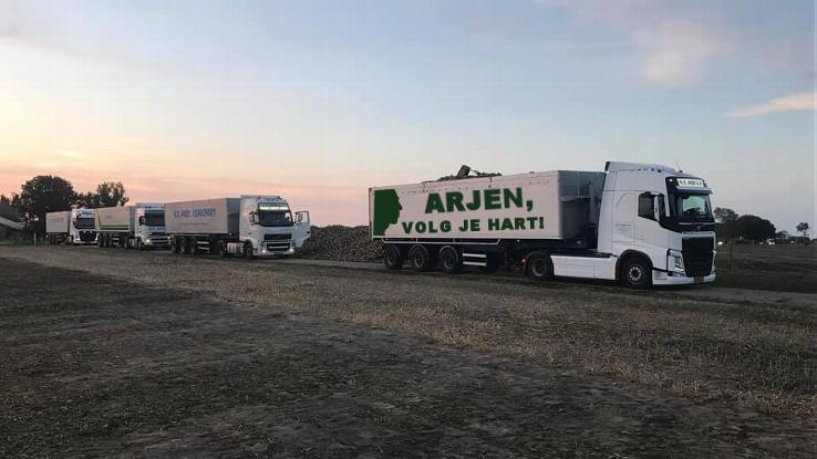 Arjen Robben's truck in all its glory.