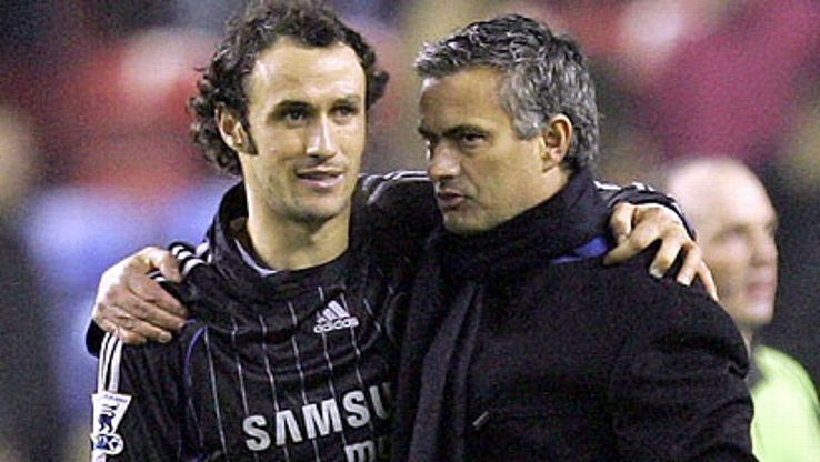 Ricardo Carvalho and Jose Mourinho: Back in the day