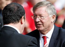 Fergie v Rafa: Here we go again.