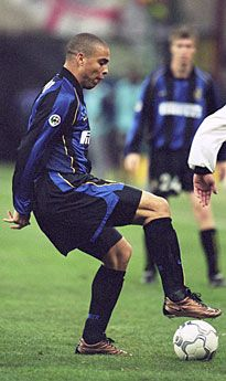 Ronaldo: Internazionale bright young thing.