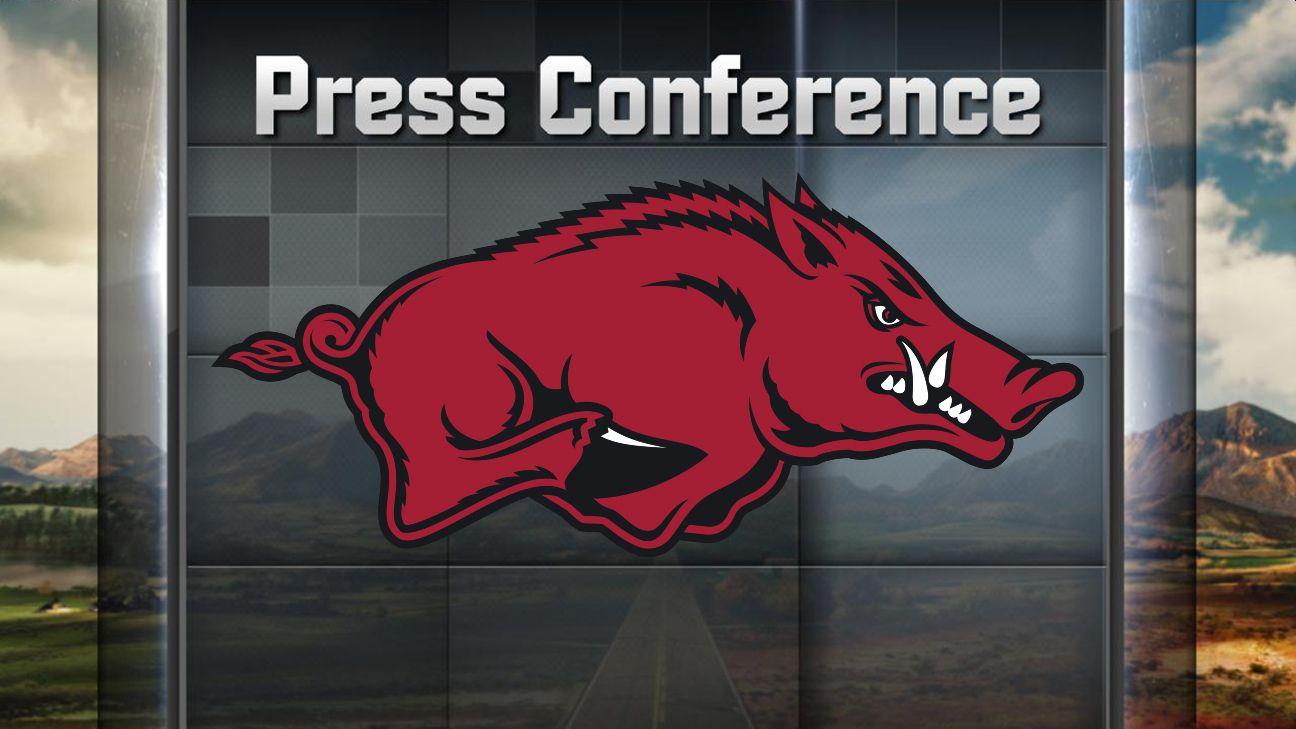 Arkansas Football Weekly Press Conference