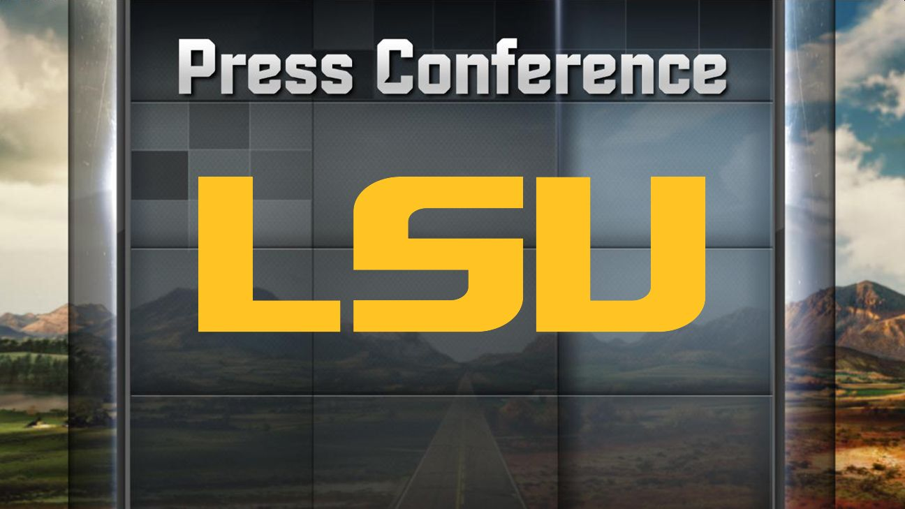 LSU Football Weekly Press Conference