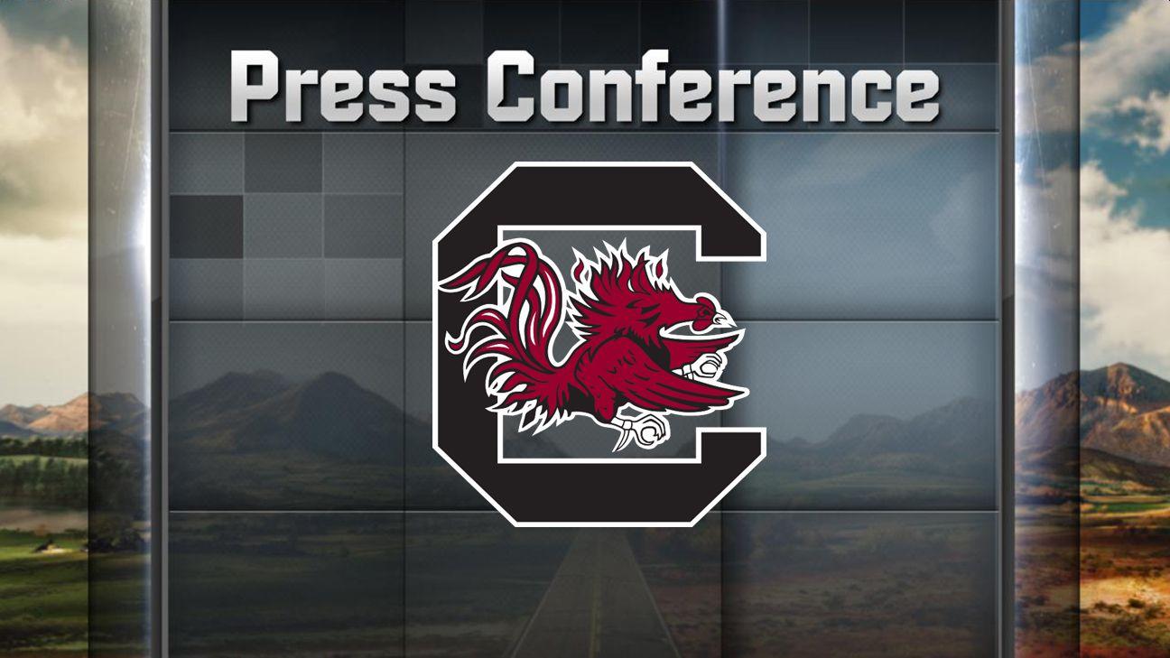 South Carolina Football Weekly Press Conference