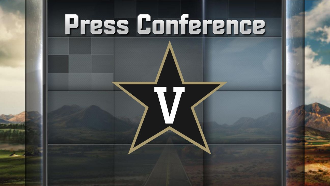Vanderbilt Football Weekly Press Conference