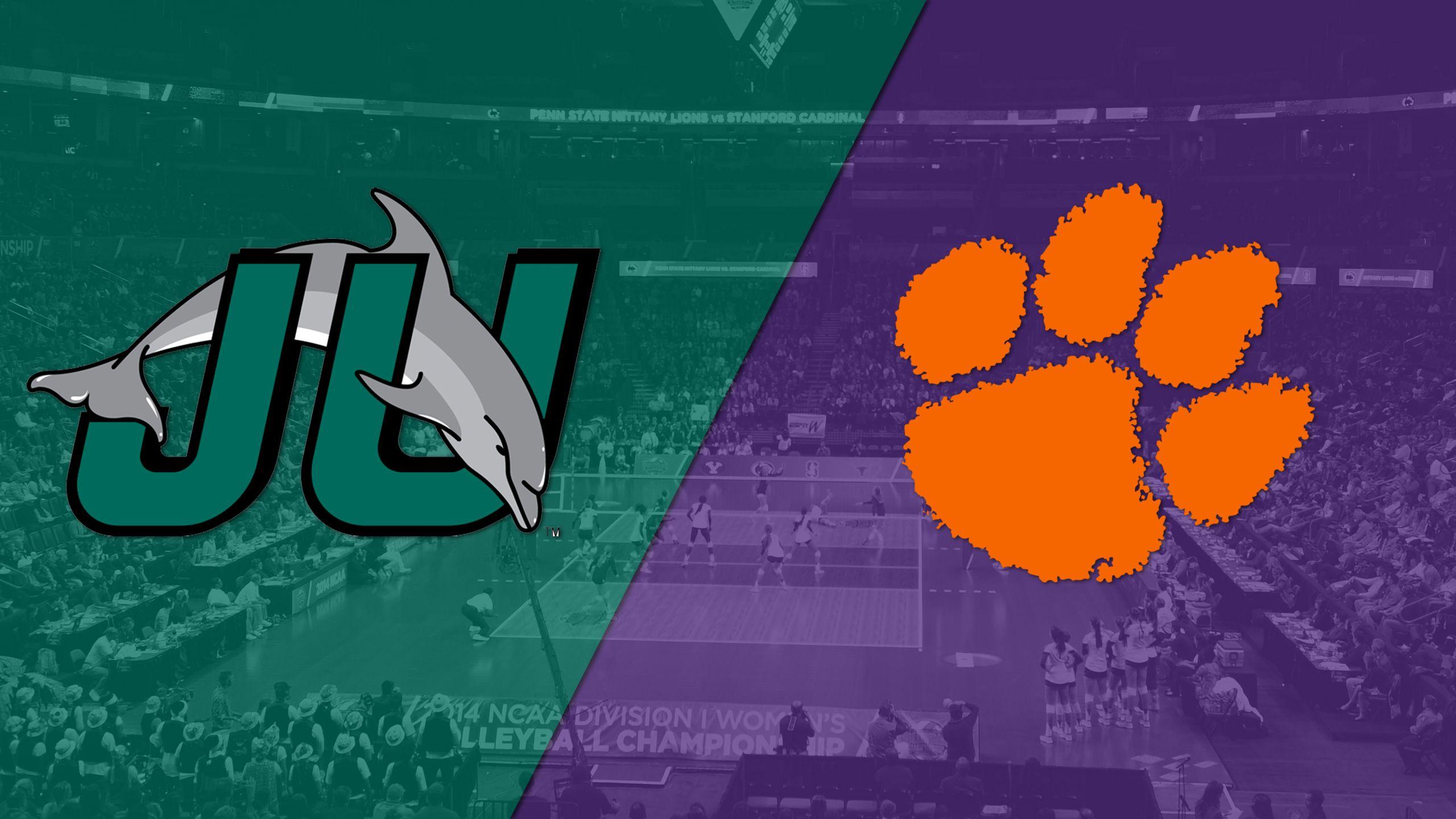 Jacksonville vs. Clemson (W Volleyball)