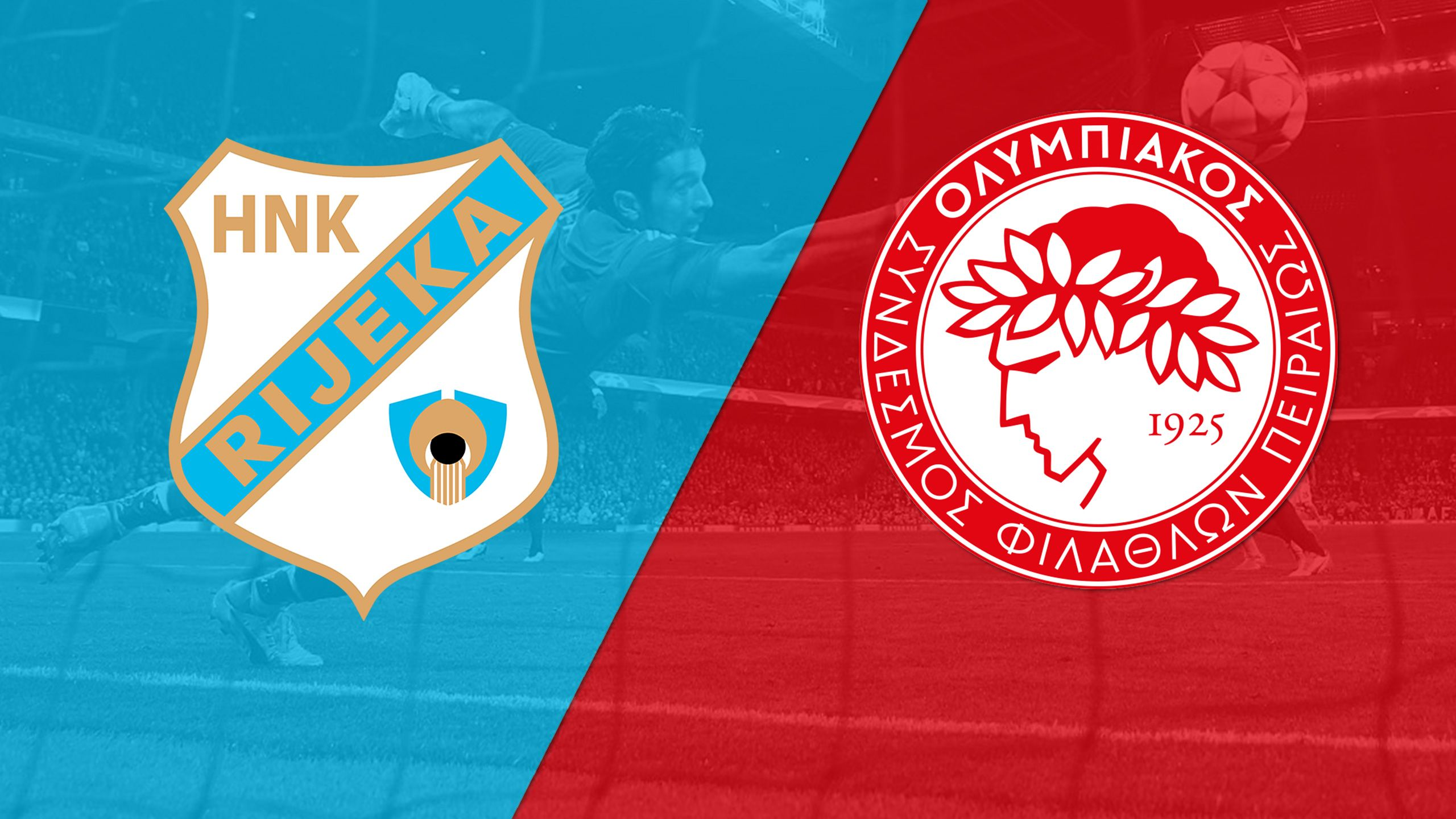 In Spanish - Rijeka vs. Olympiakos (Playoffs, 2nd Leg) (UEFA Champions League)