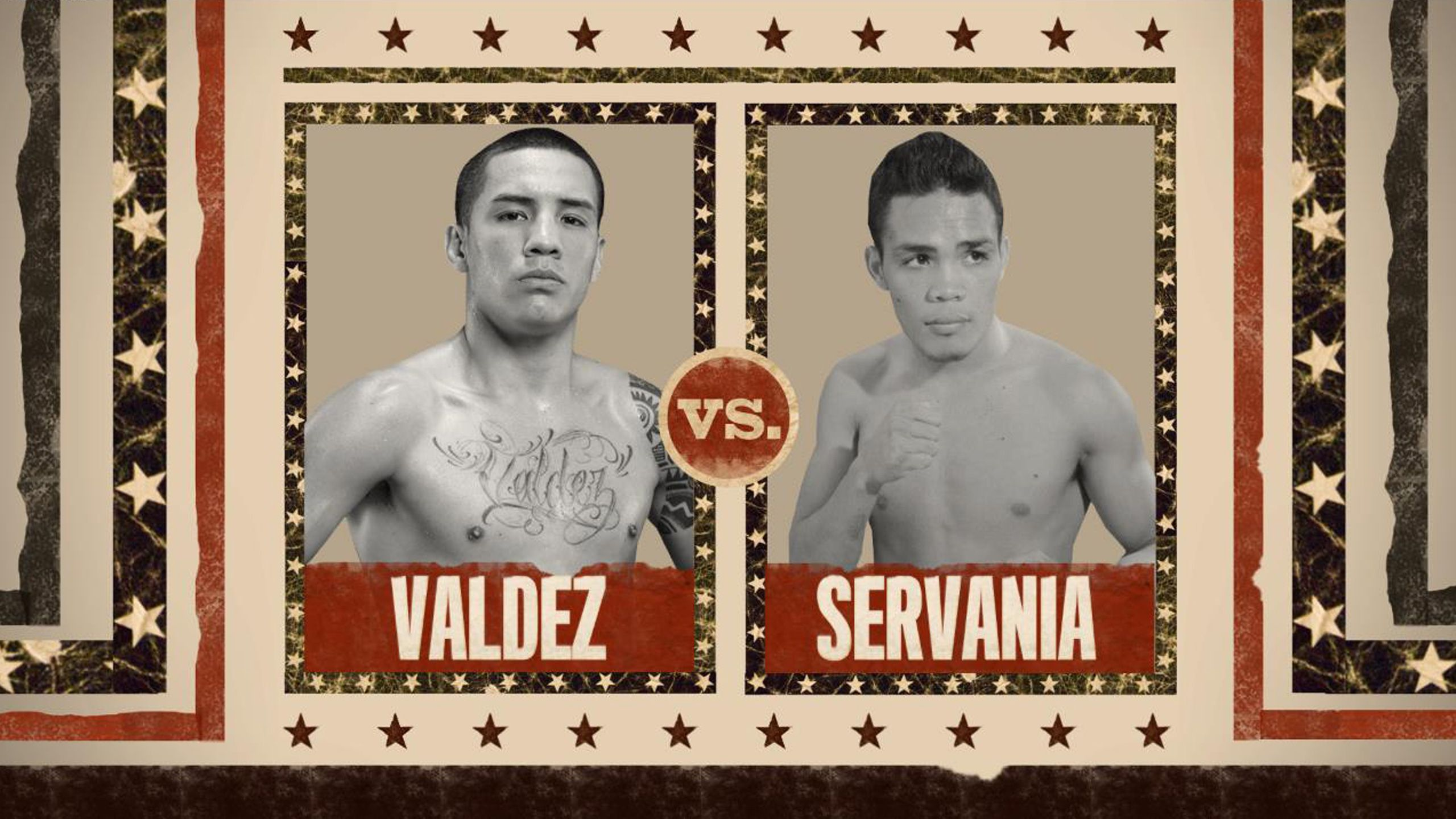 Valdez vs. Servania Official Weigh-In
