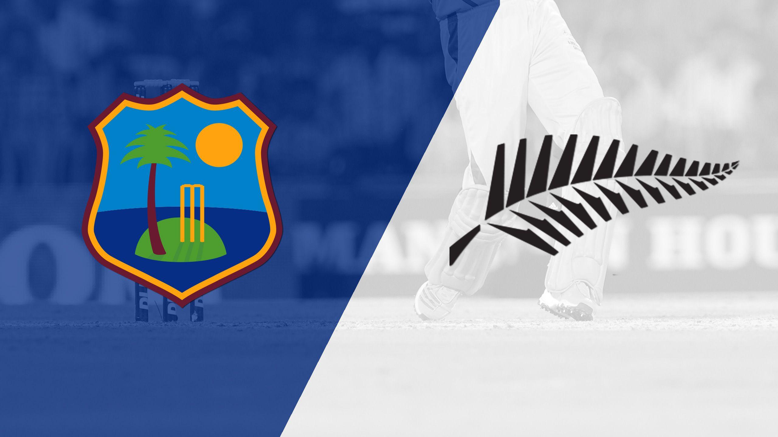 West Indies vs. New Zealand (Test 2, Day 4) (International Cricket)