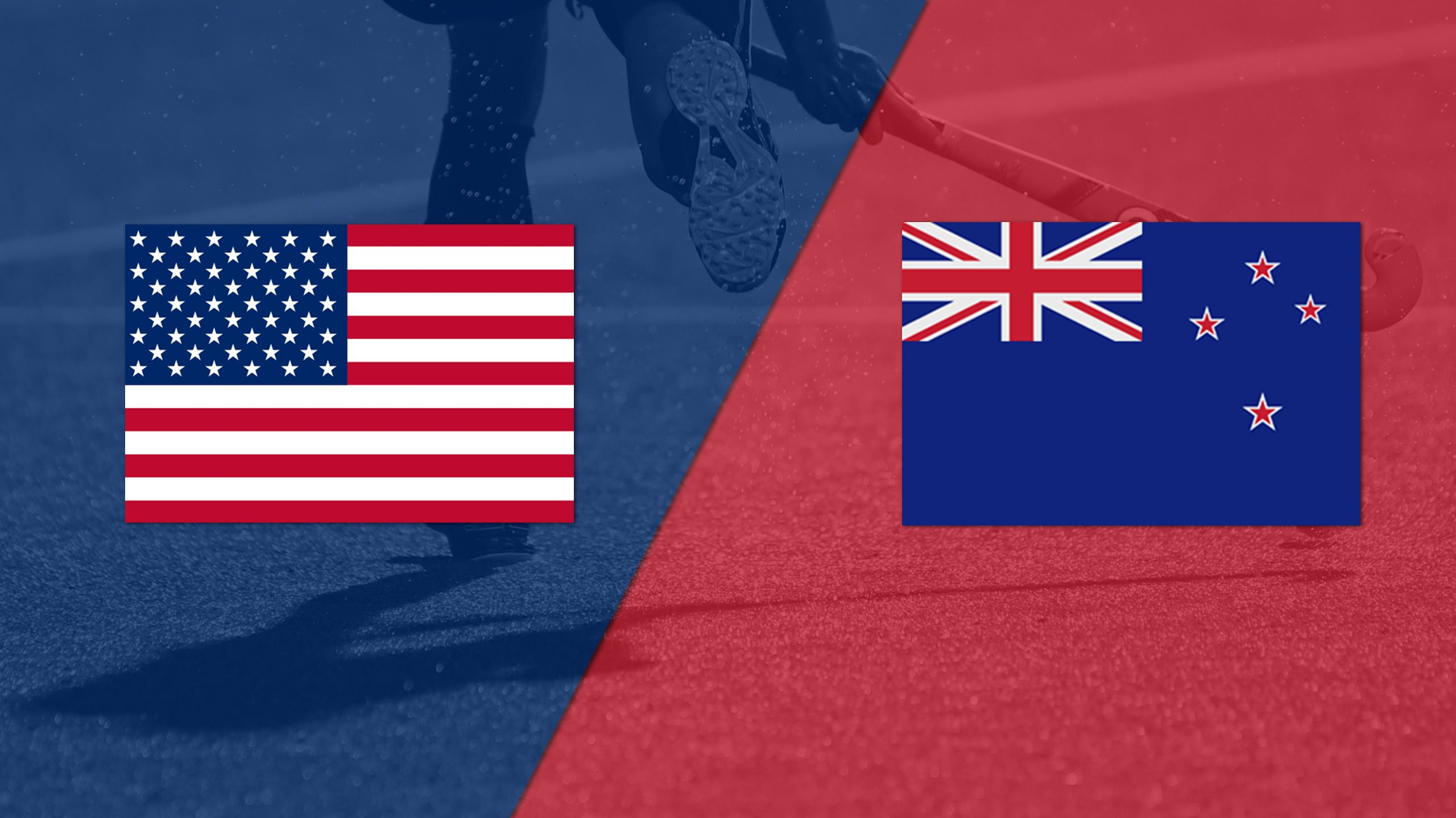 United States vs. New Zealand (Women's FIH World League)