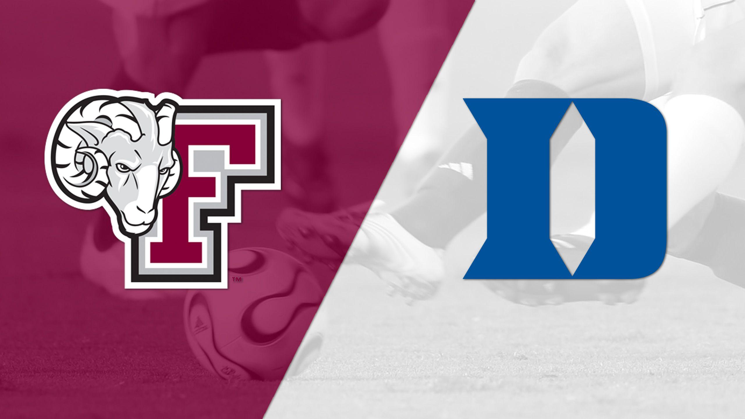 Fordham vs. #6 Duke (Third Round) (NCAA Division I Men's Soccer Championship)