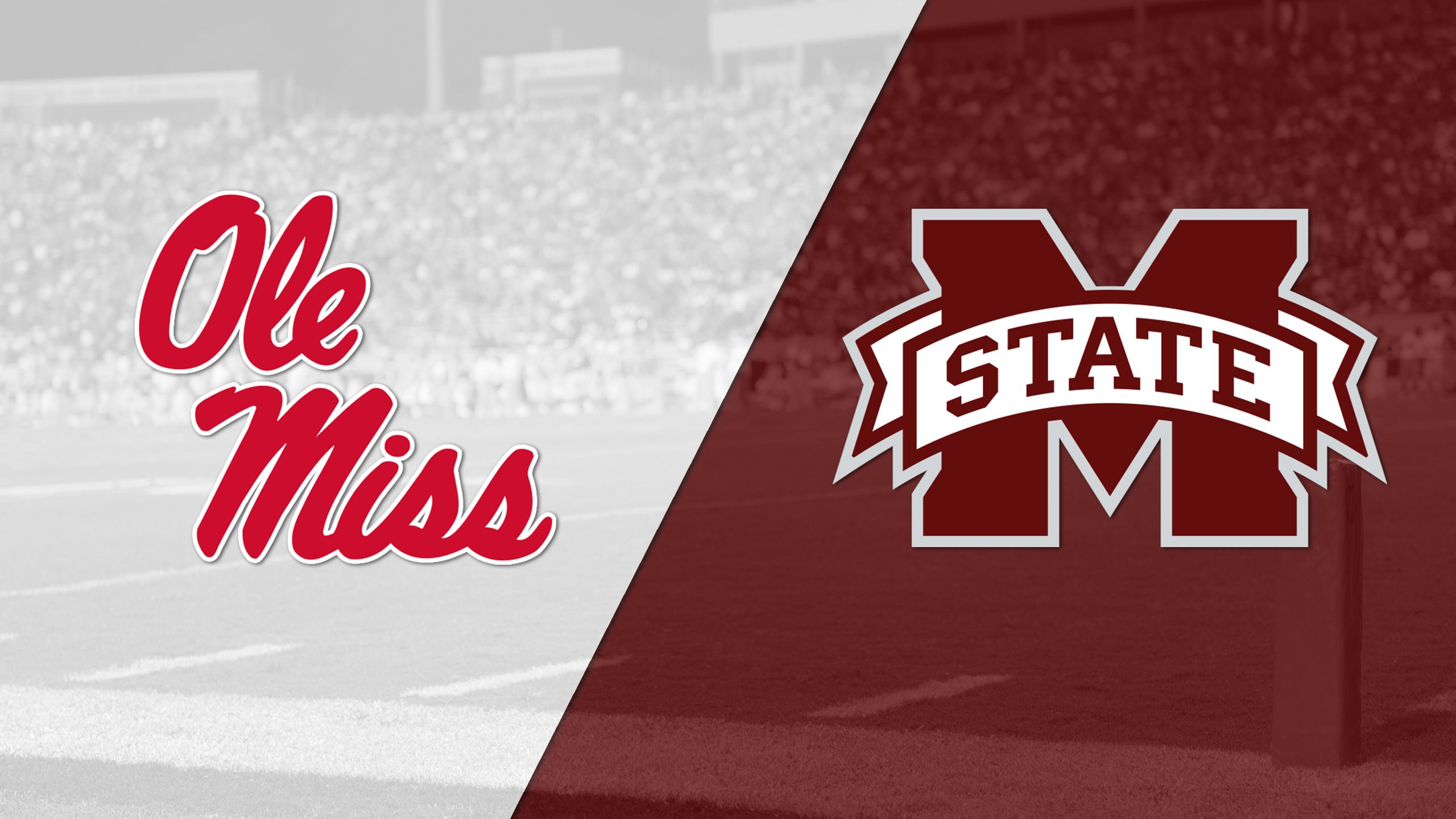 Ole Miss vs. #14 Mississippi State (Football) (re-air)