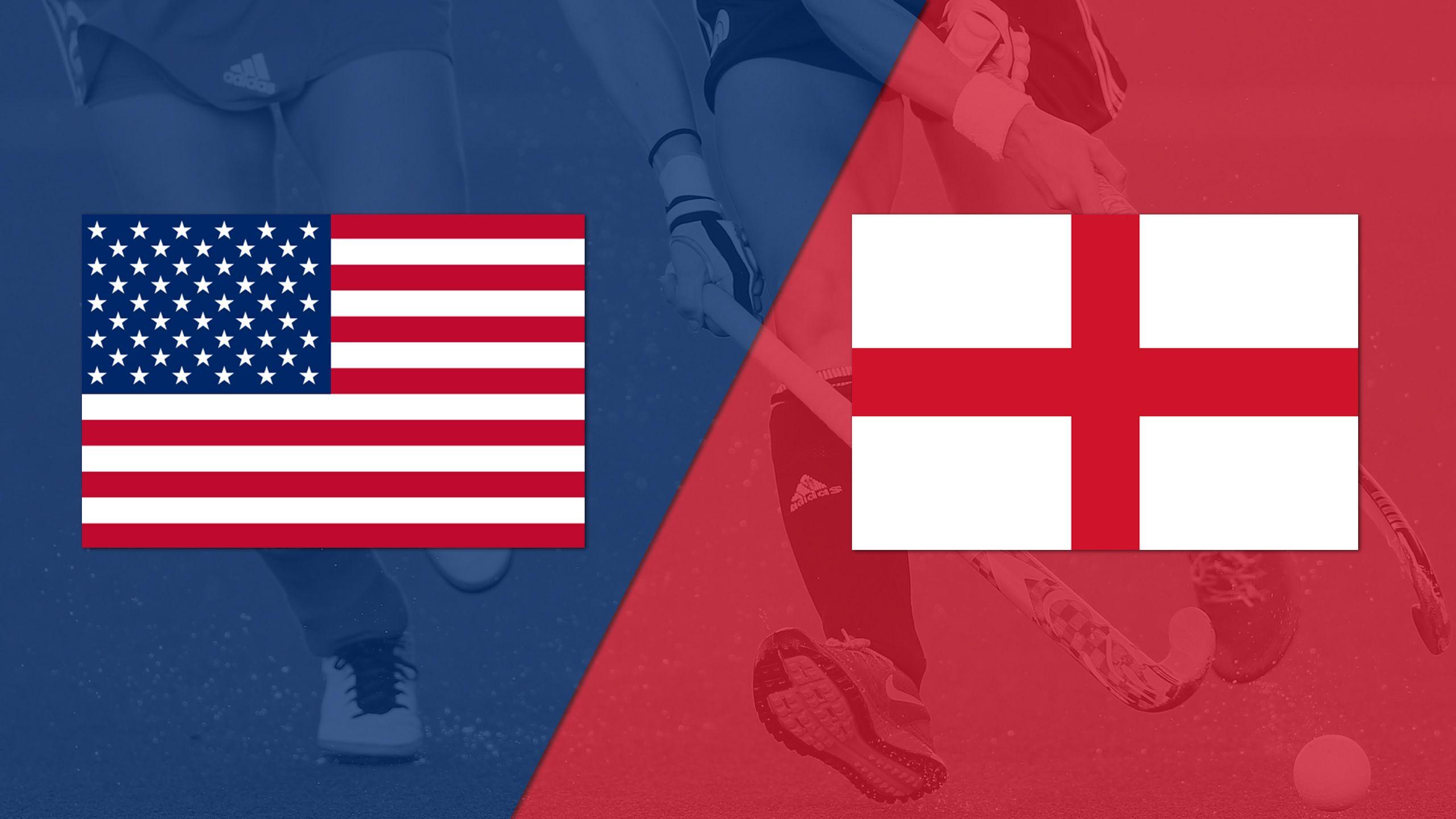 United States vs. England (Quarterfinals) (Women's FIH World League)