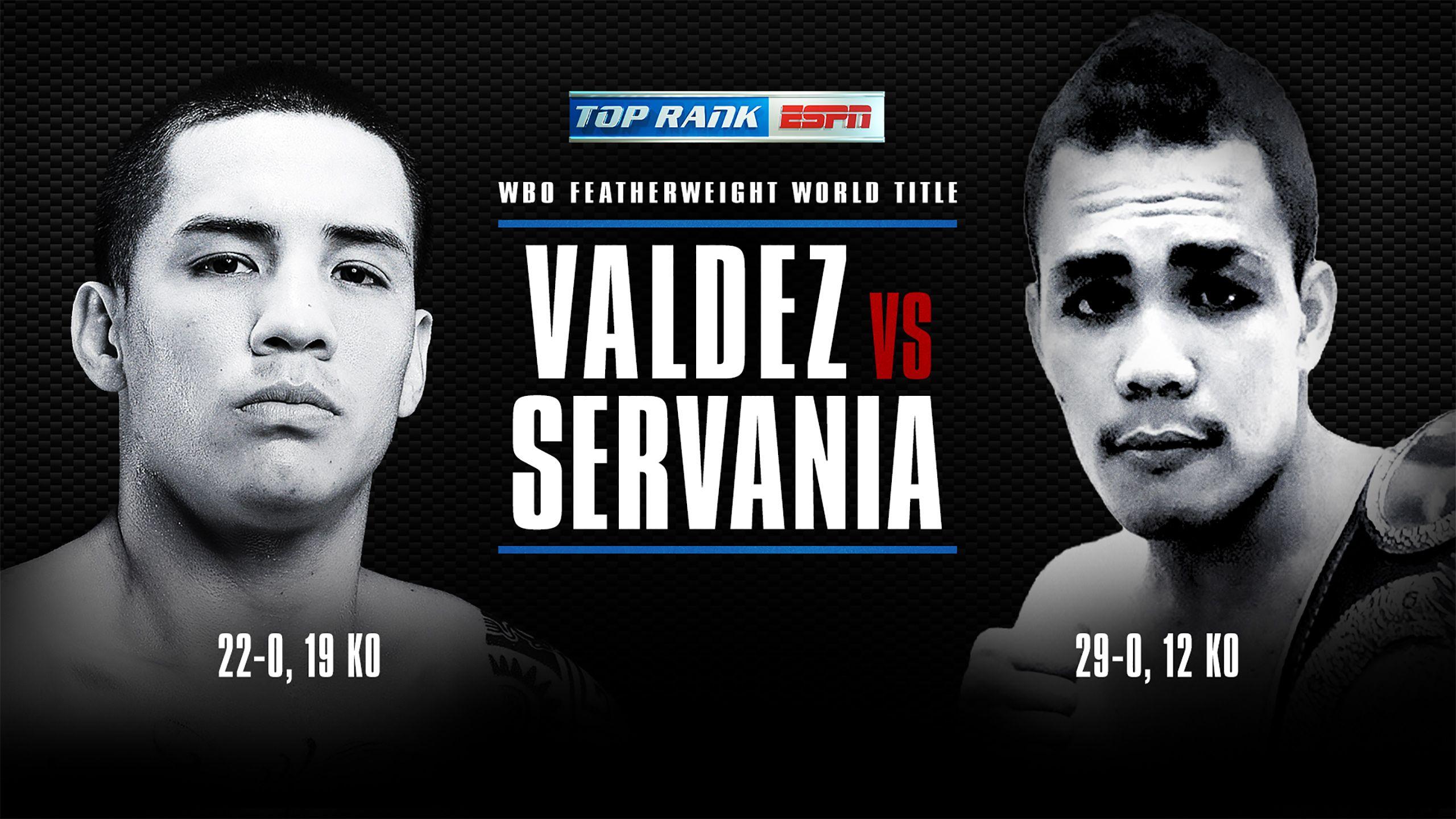 Oscar Valdez vs. Genesis Servania