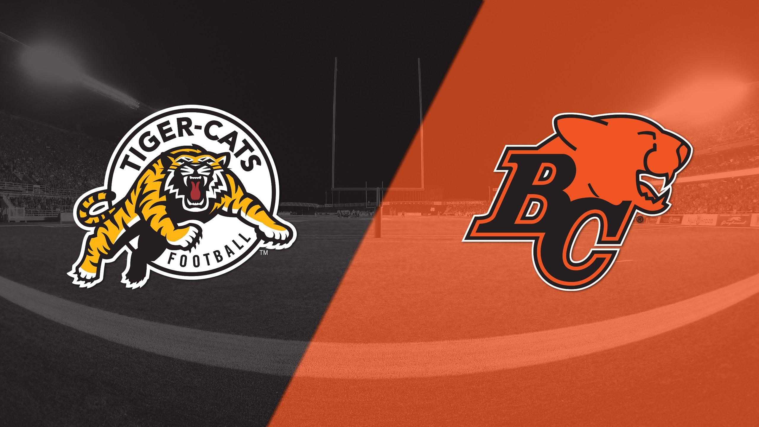 Hamilton Tiger-Cats vs. BC Lions