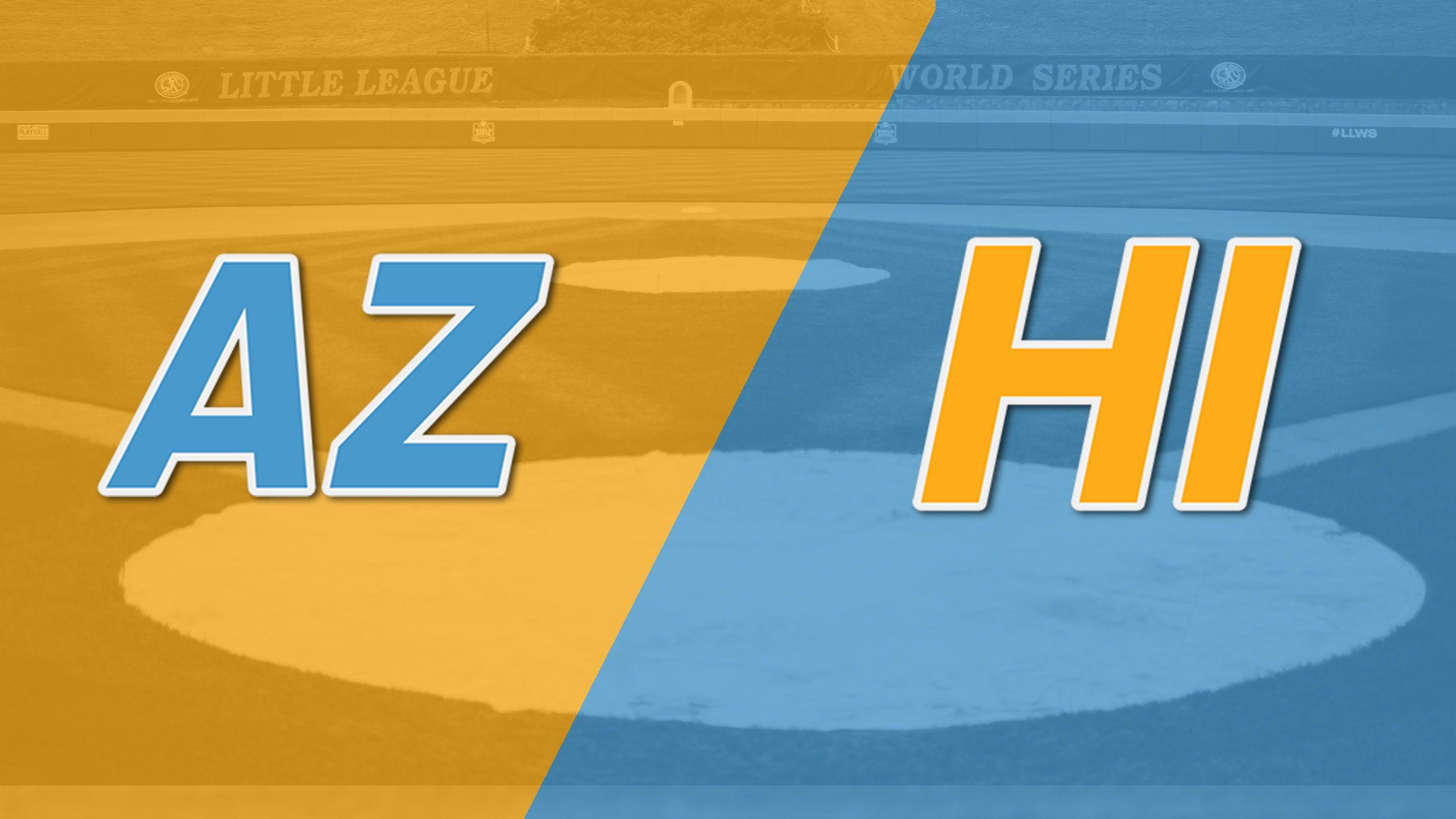Chandler, Arizona vs. Hilo, Hawaii (West Regional)