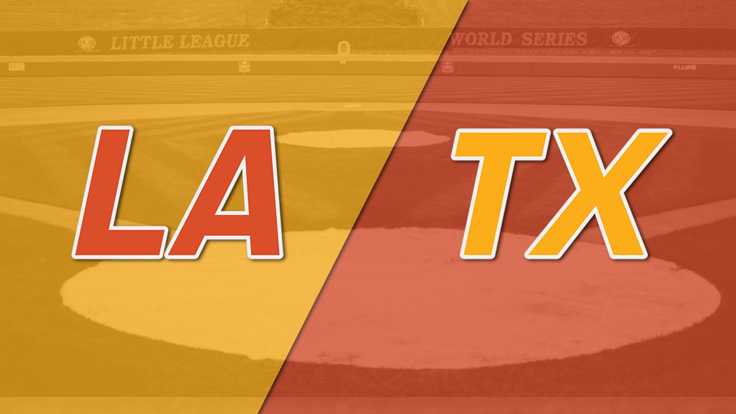 River Ridge, LA vs. San Antonio, Texas (Southwest Regional Semifinal #2)