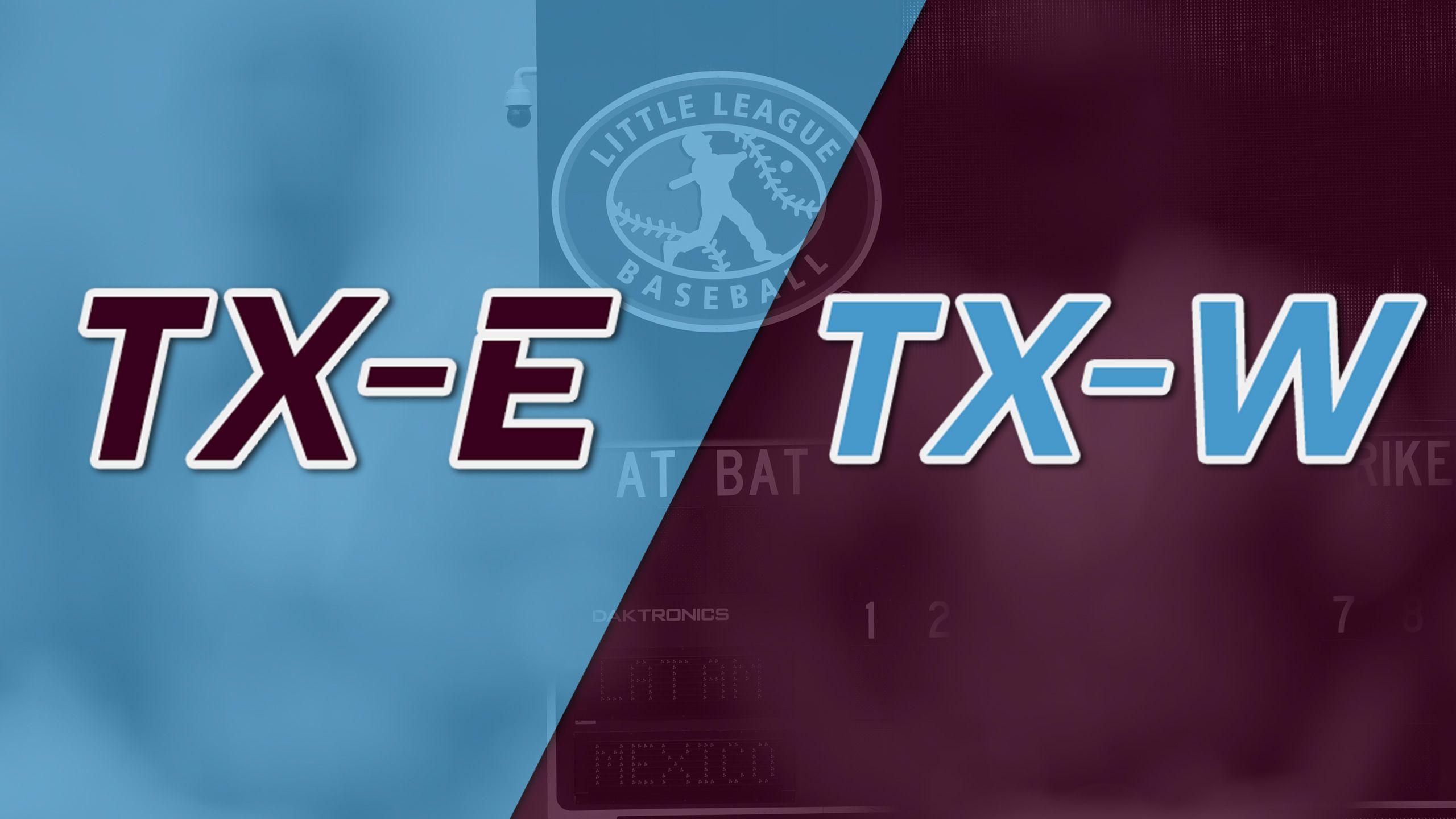 Lufkin, Texas vs. San Antonio, Texas (Southwest Regional Final)