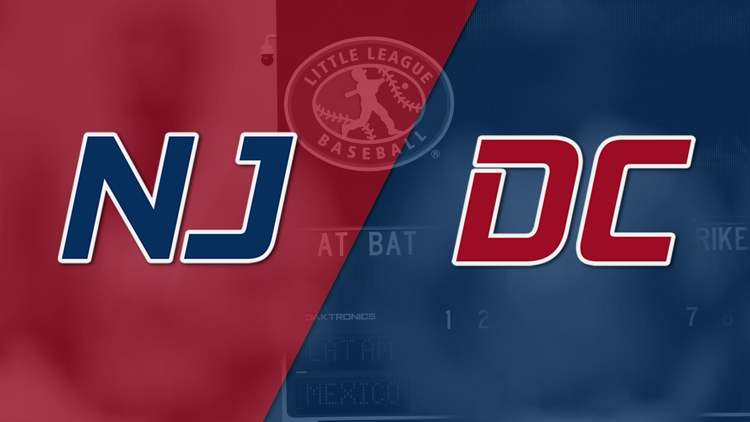Jackson, New Jersey vs. Washington, D.C. (Mid-Atlantic Regional)