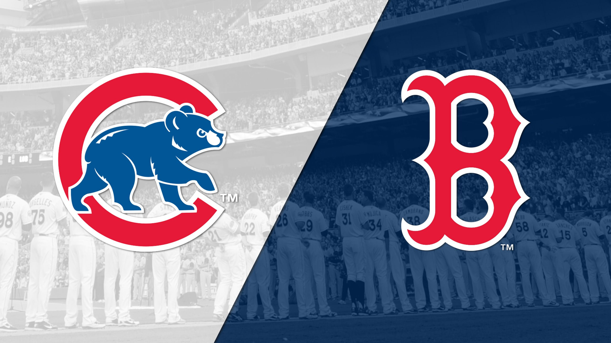 Chicago Cubs vs. Boston Red Sox