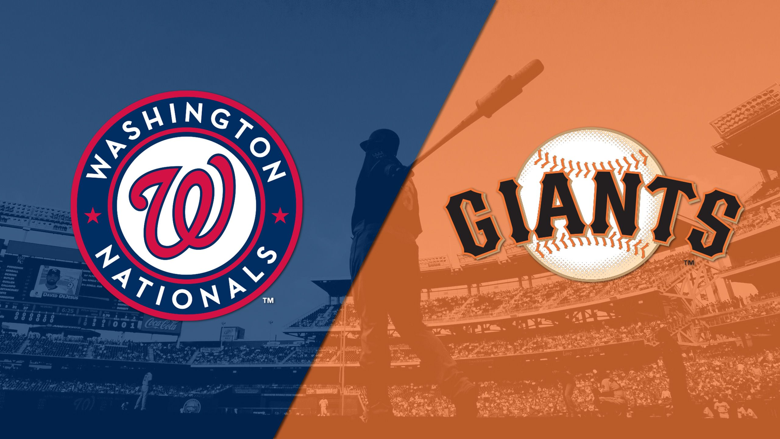 Washington Nationals vs. San Francisco Giants (re-air)