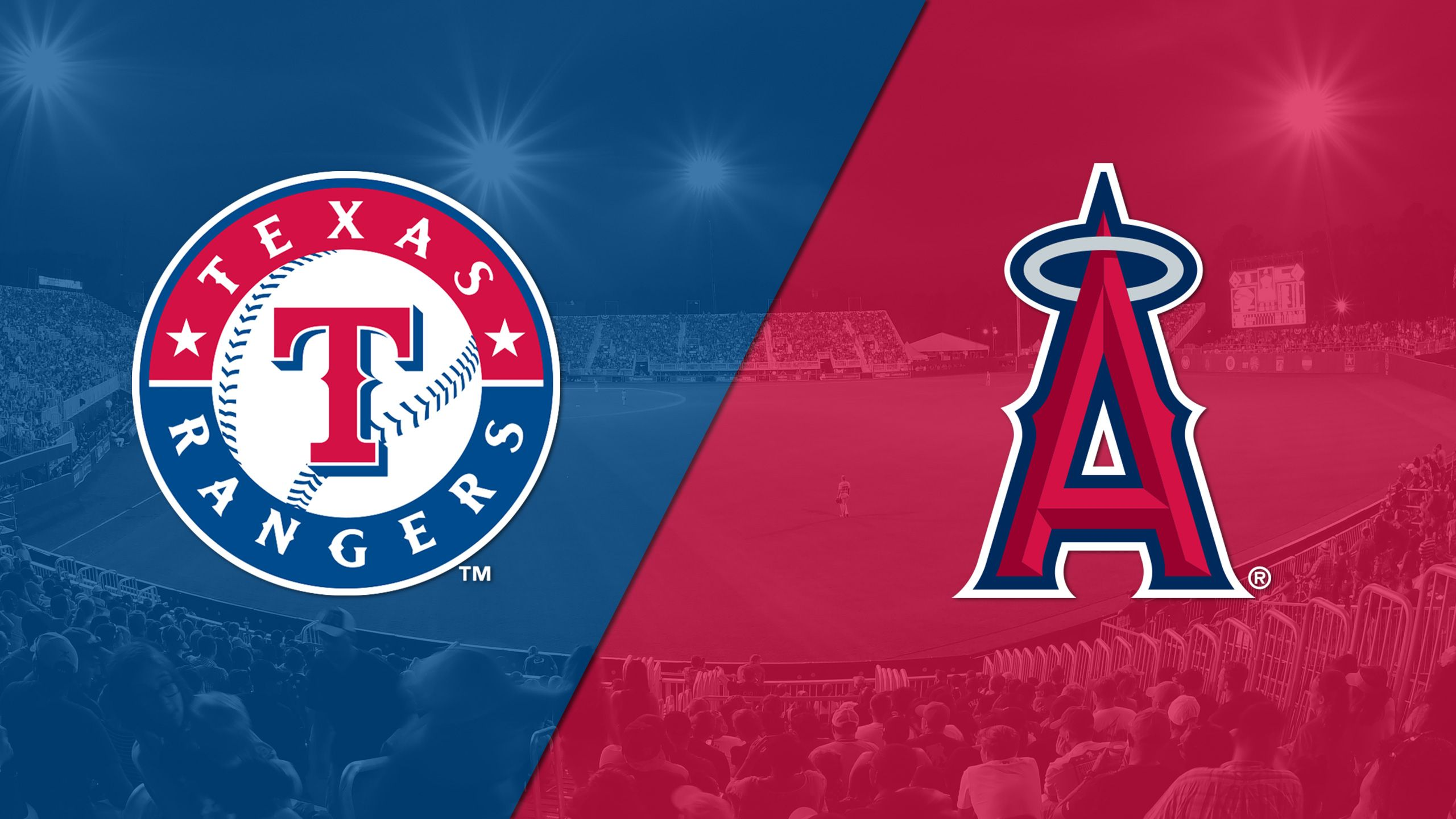 In Spanish - Texas Rangers vs. Los Angeles Angels of Anaheim