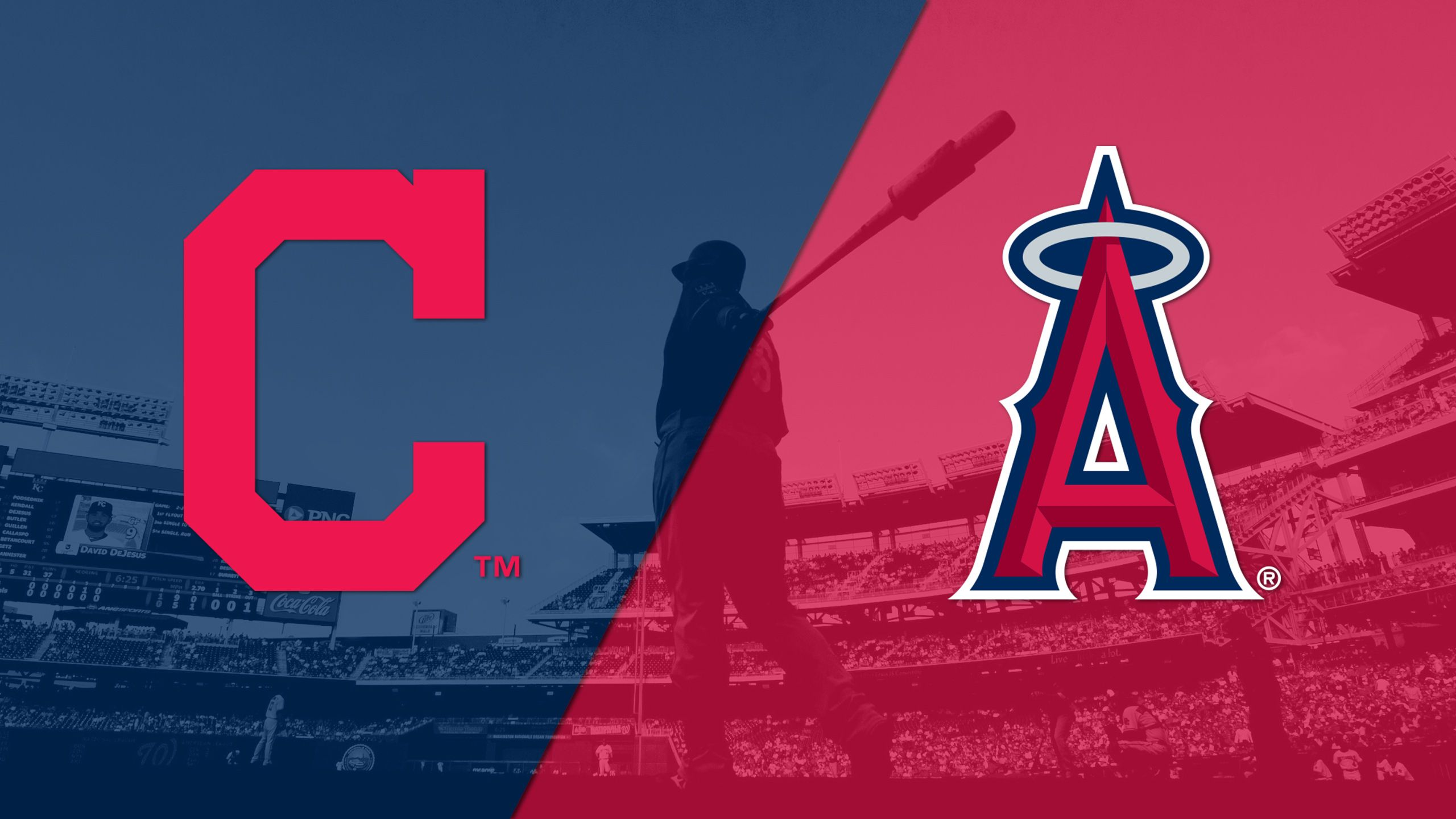 In Spanish - Cleveland Indians vs. Los Angeles Angels of Anaheim