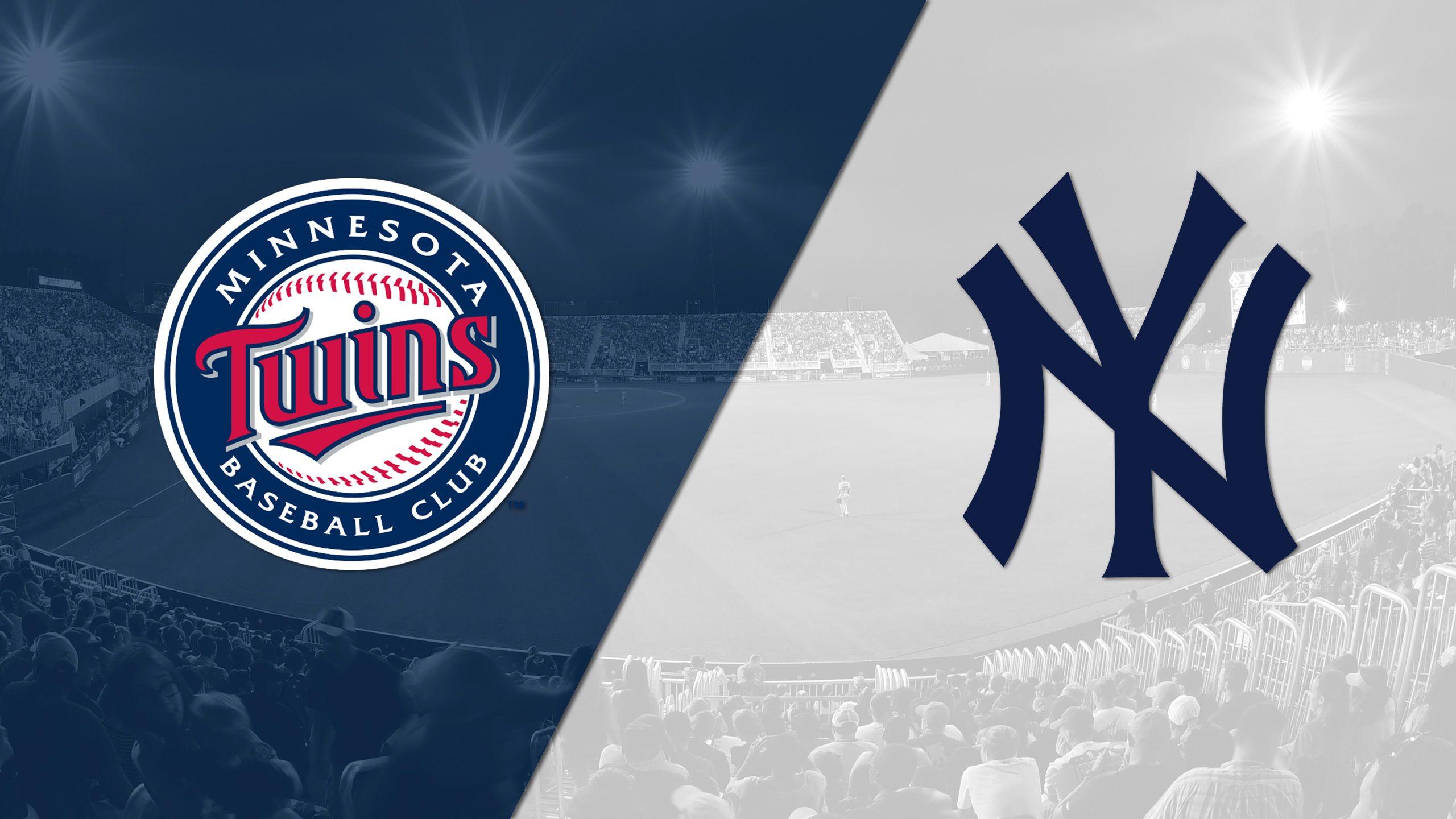 In Spanish - Minnesota Twins vs. New York Yankees
