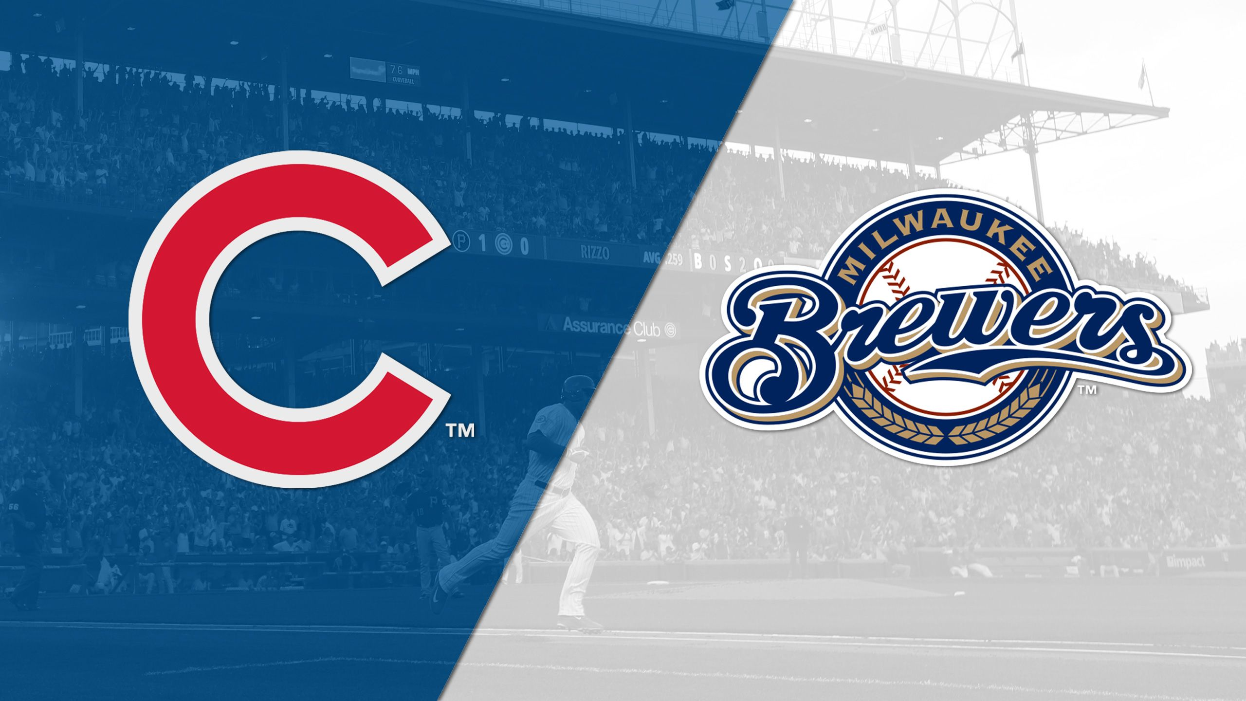 Chicago Cubs vs. Milwaukee Brewers (re-air)