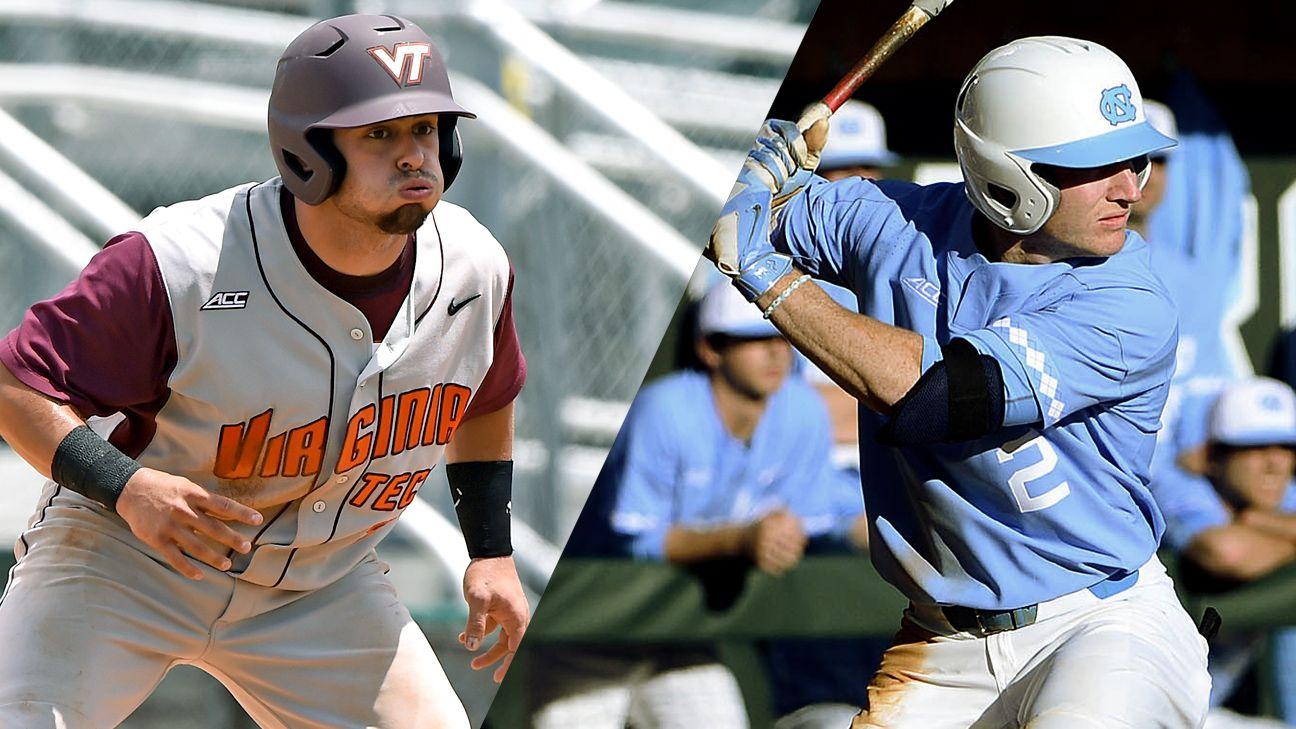 Virginia Tech vs. #12 North Carolina (Baseball)
