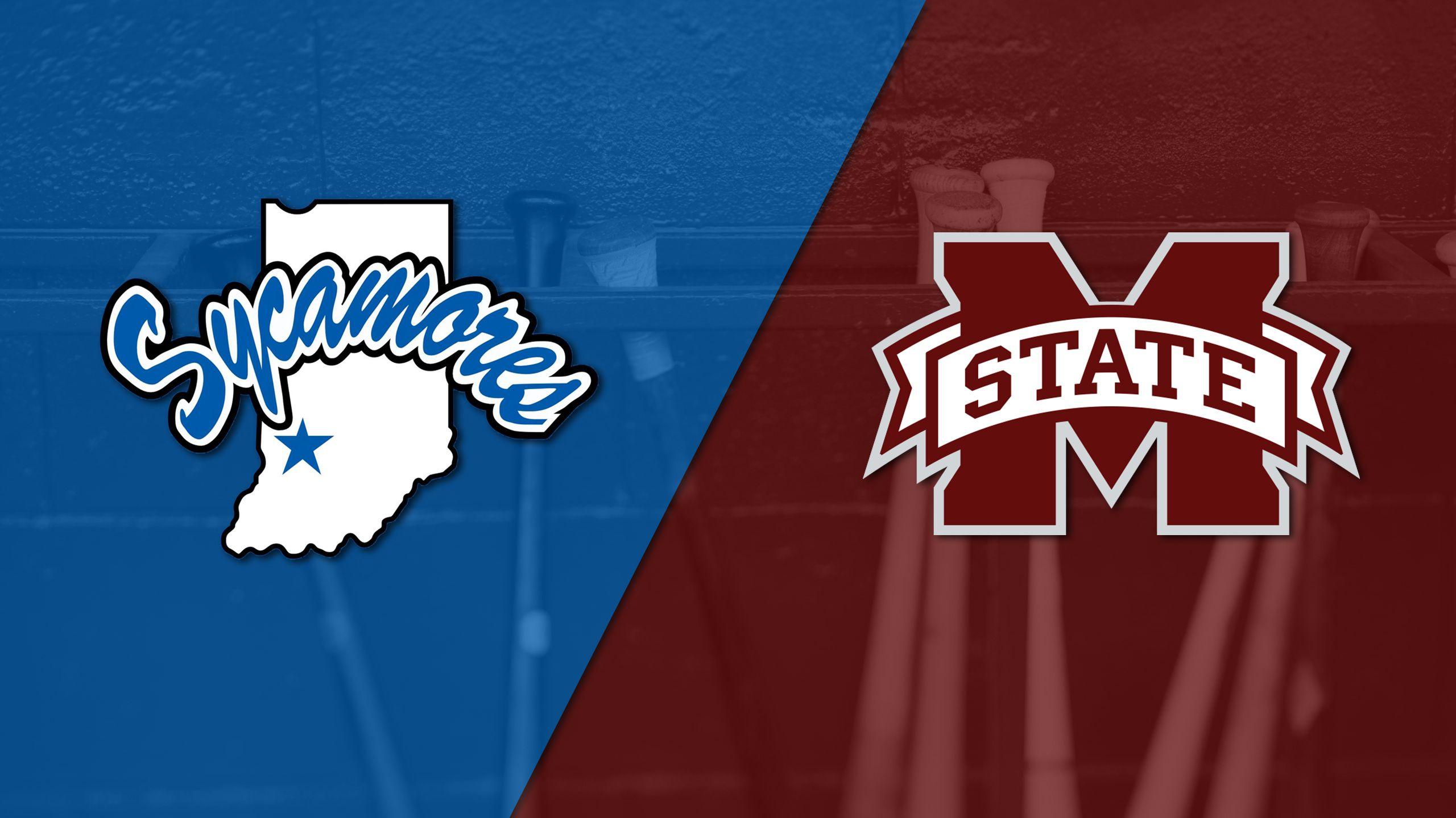 Indiana State vs. Mississippi State (Baseball)