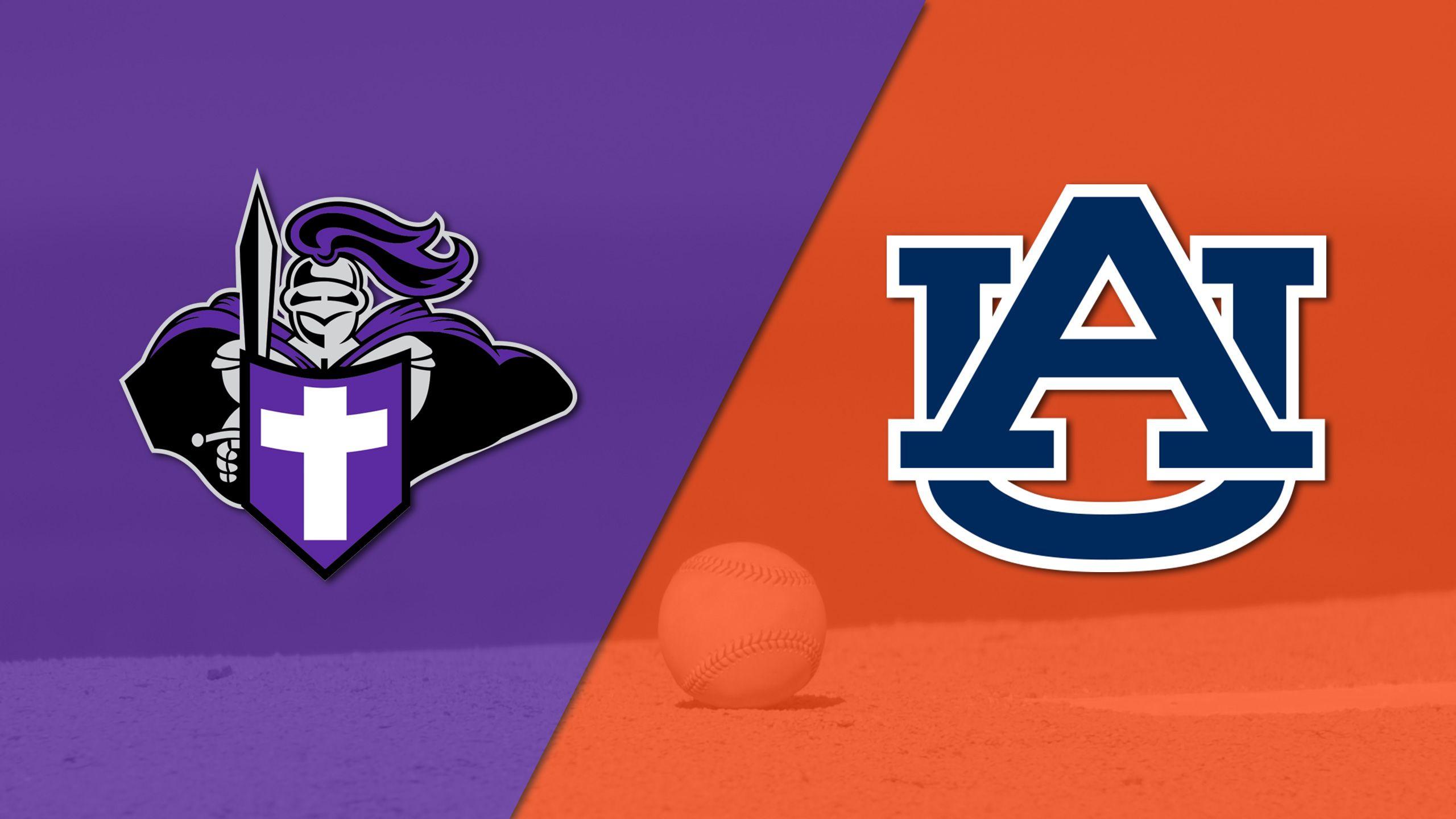 Holy Cross vs. Auburn (Baseball)