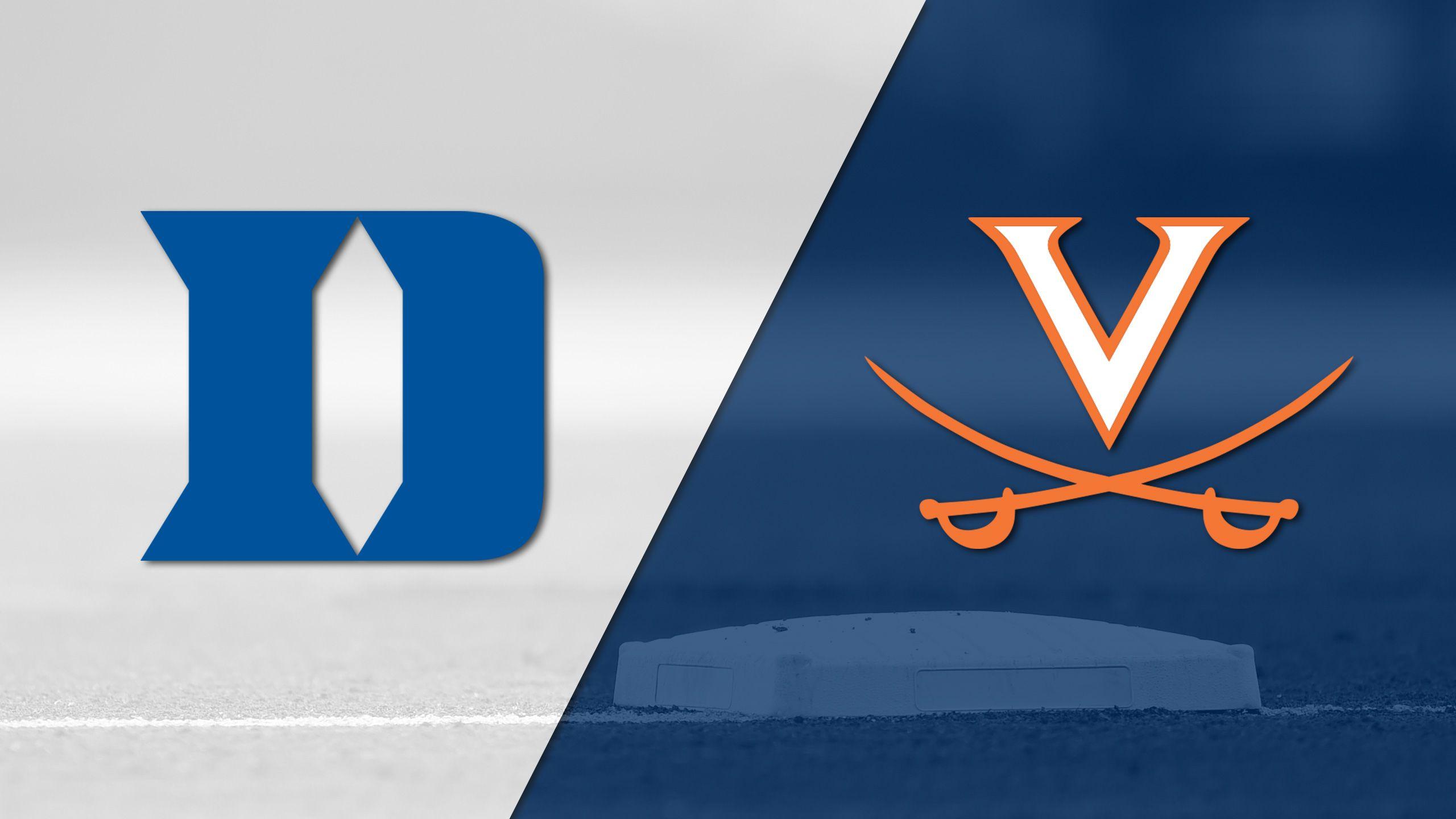 Duke vs. #16 Virginia (Baseball)