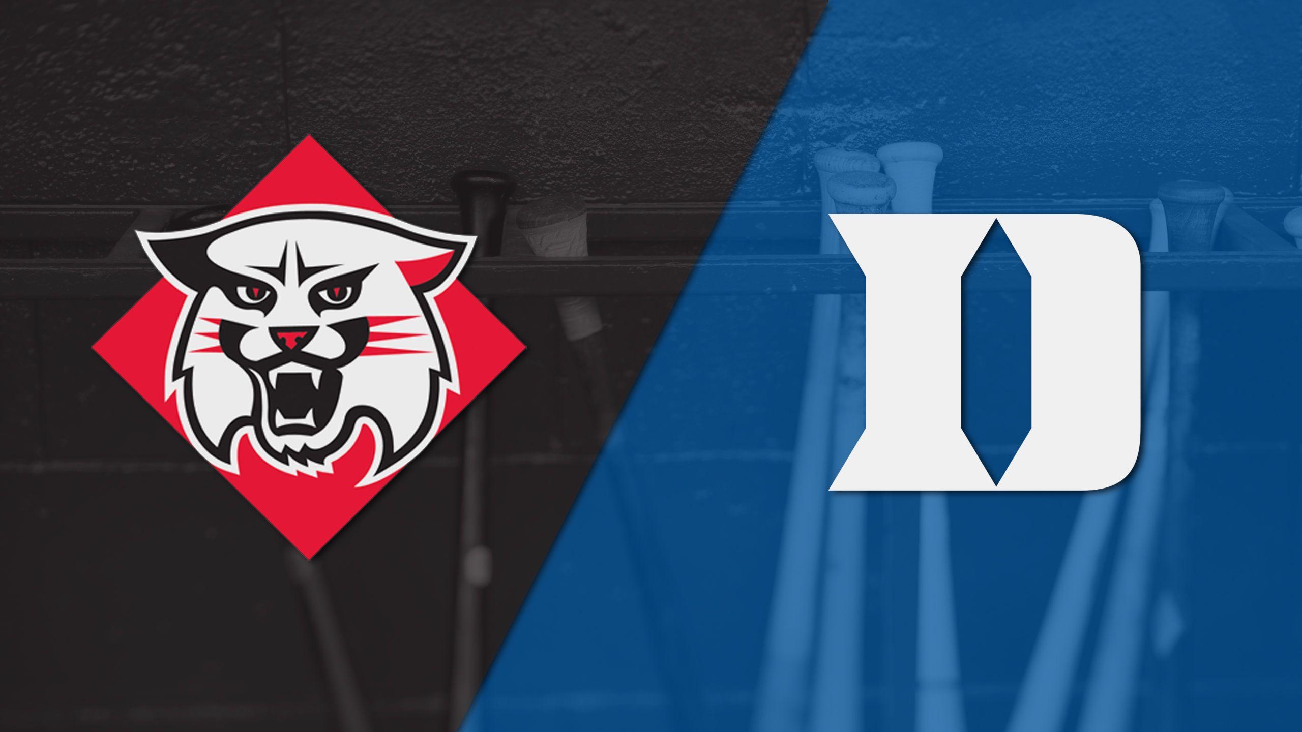 Davidson vs. Duke (Baseball)