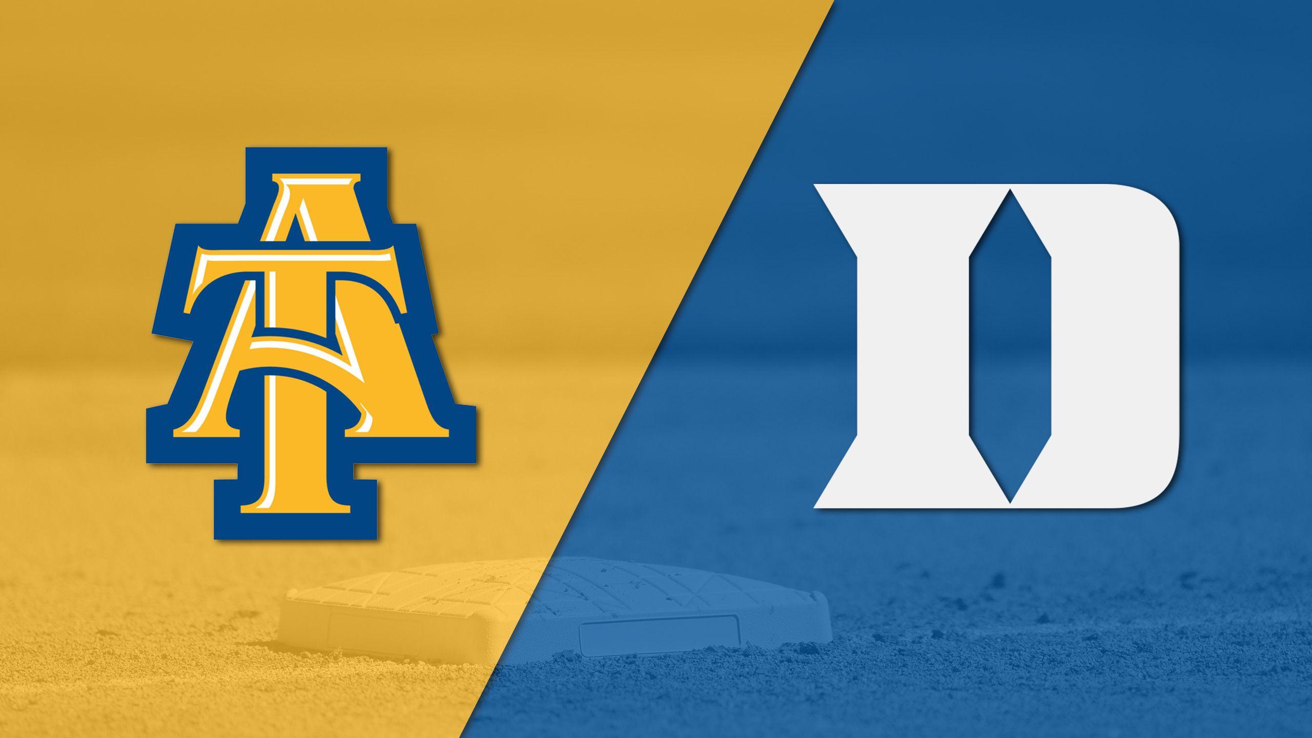 North Carolina A&T vs. Duke (Baseball)