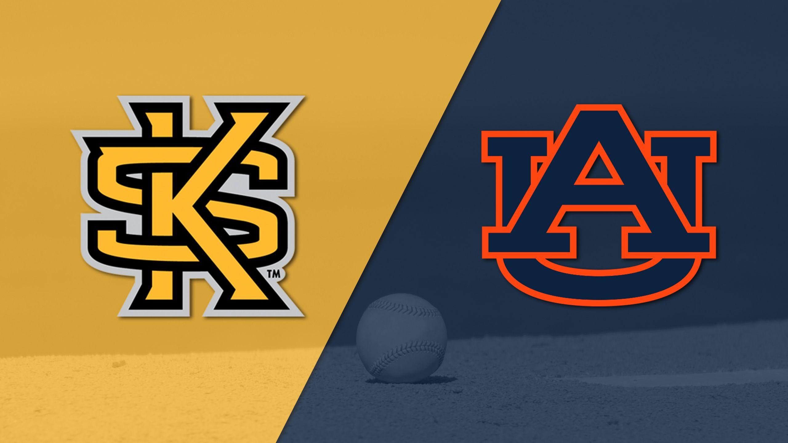 Kennesaw State vs. Auburn (Baseball)